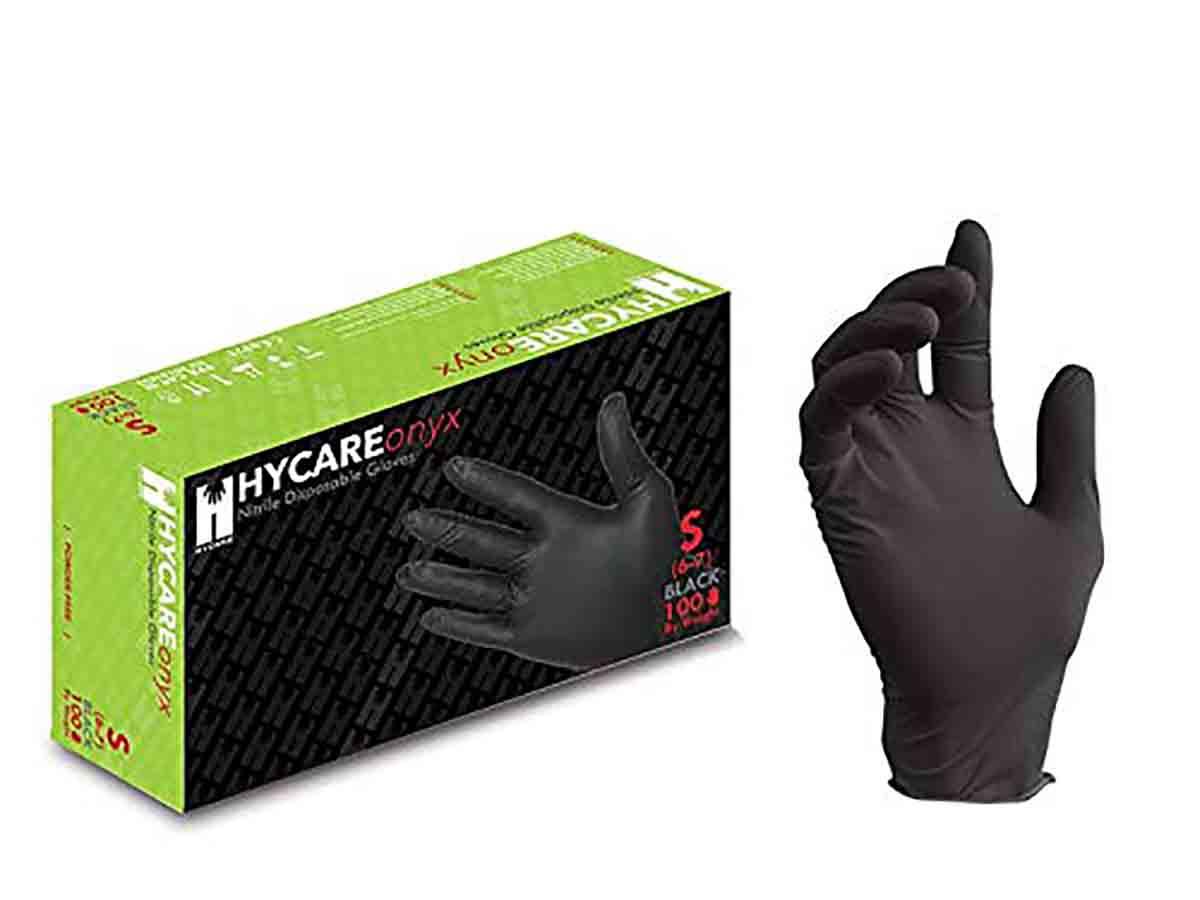 amazon guantes nitrilo negros